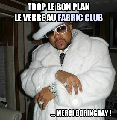 fabric club bon plan
